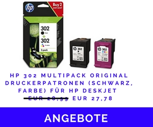 HP 302 Multipack Original Druckerpatronen